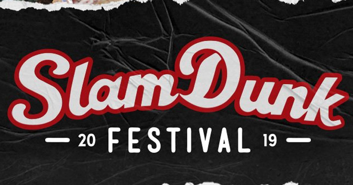 Slamdunk Festival UK : Line-up complet !