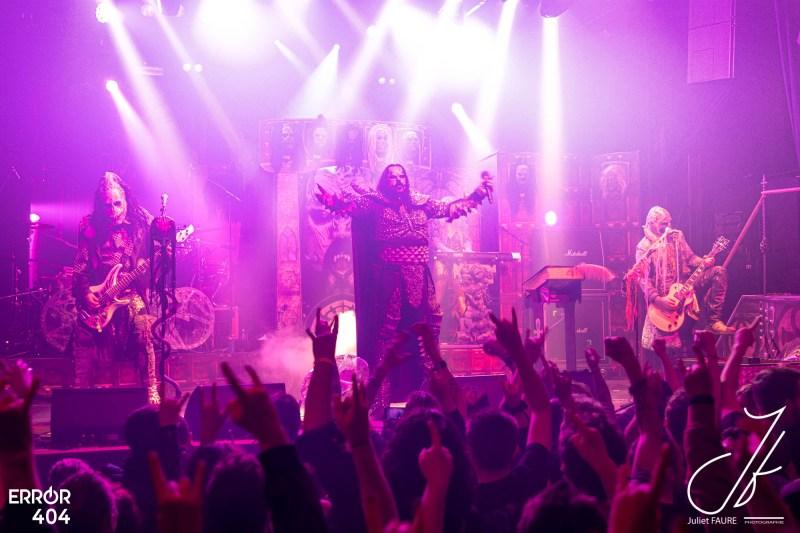 Lordi @La Machine du Moulin Rouge - Juliet Faure