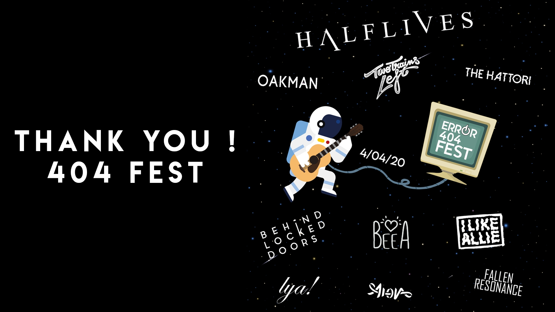 404 FEST : LES REPLAYS !