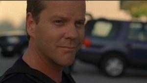 Kiefer Sutherland smiling