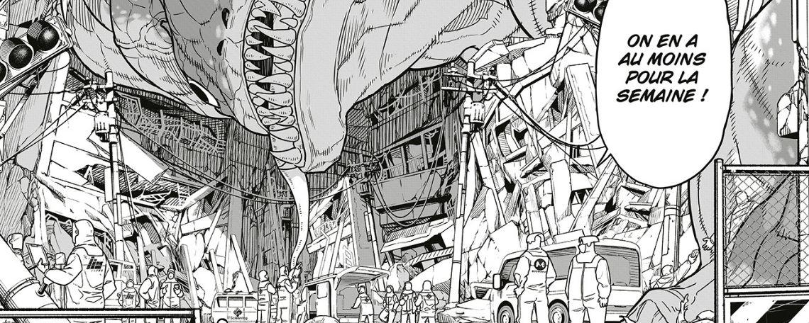 Kaiju N°8, de Naoya Matsumoto