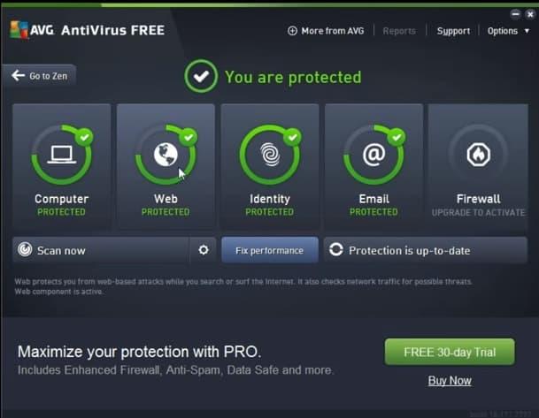 How to uninstall avg antivirus