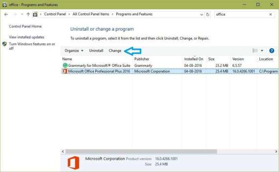 office programs features