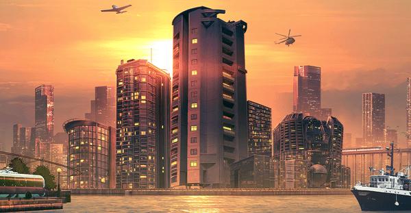 Cities: Skylines Sunset Harbor