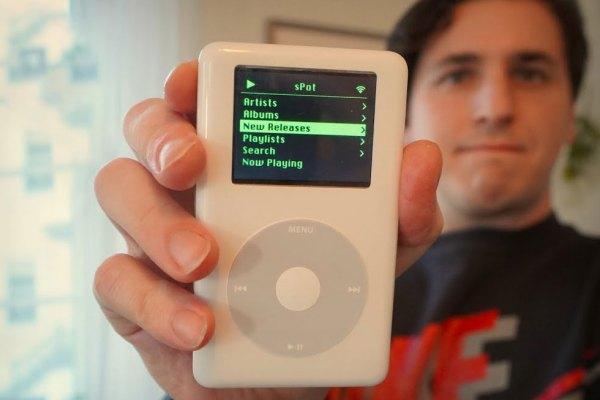 iPod Classic x Spotify