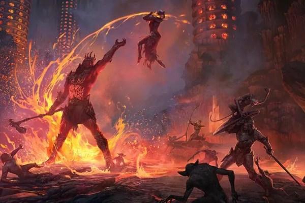 Elder Scrolls Online: Flames Of Ambition