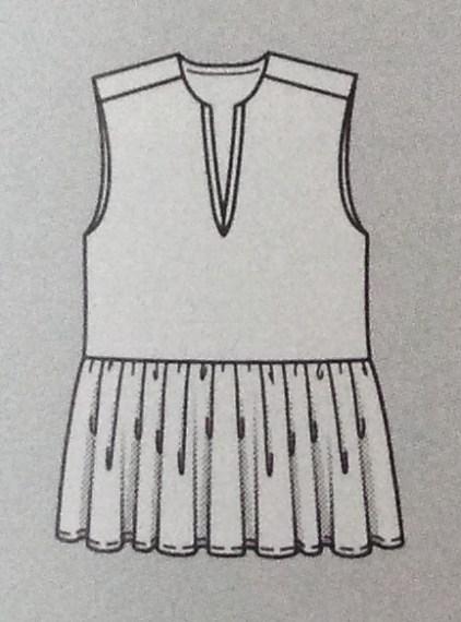 Bluse #118c - Quelle: Burda Style