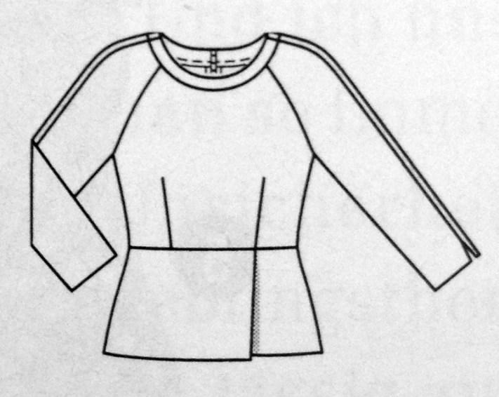 Shirt #110 - Quelle: Burda Style