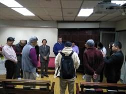 開拍當日,於長春禮拜堂舉行開鏡典禮