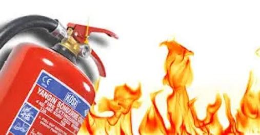 yangın söndürücü nedir? yangın söndürücü maddeleri nelerdir?