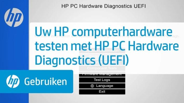 HP PC Hardware Diagnostics Ne Demek