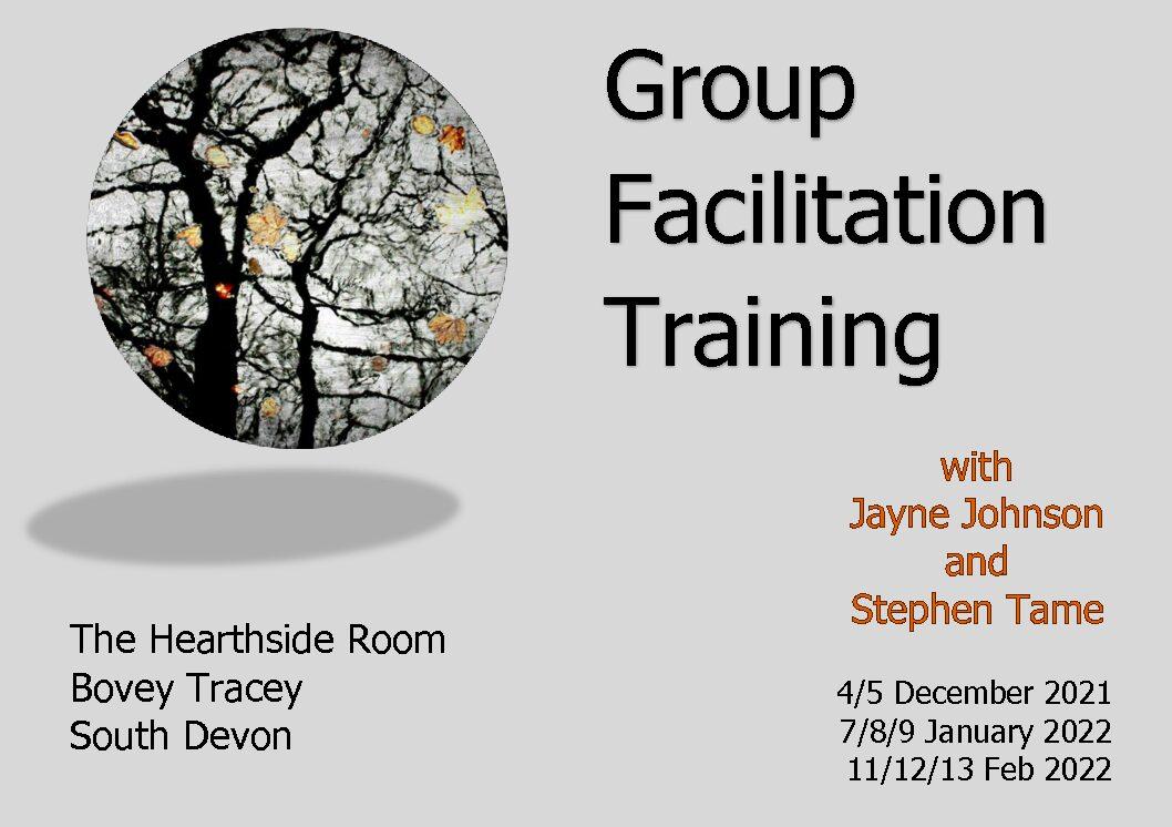 Group Facilitation Training - new start date: Dec 2021