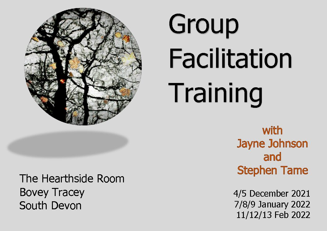 Group Facilitation Training - new start date: Dec 2021