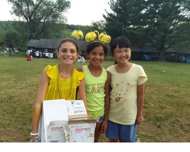 参加2017大果情商美国夏令营的孩子们
