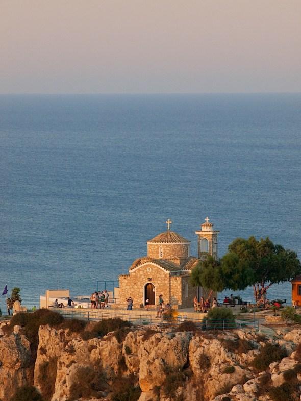 Eliaskapellet og Famagustabukta