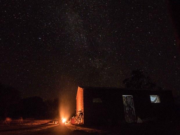 Natt utenfor allfarvei
