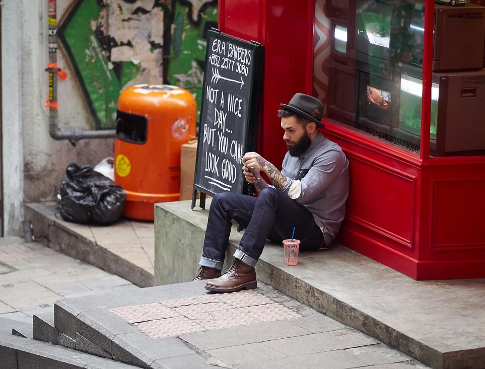 Sheung Wan er et strøk for bohemer fra hele verden - med smartphones og en smule hjemlengsel?