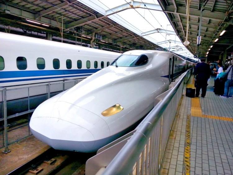 Reizen per Shinkansen