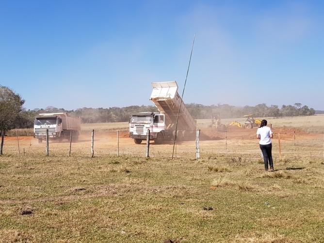 Paraguay Bauarbeiten