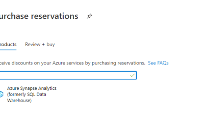 Azure SQL Data Warehouse: Reserved Capacity versus Pay as You go