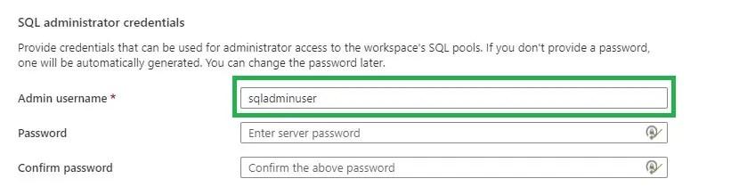 Assign sql admin user