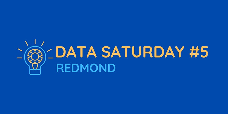 Data Saturday Redmond