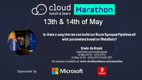 My Virtual Session Cloud Lunch and Learn Marathon