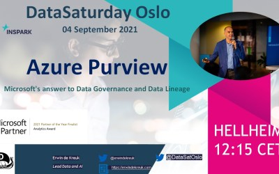 My Virtual Session DataSaturday #14 Oslo