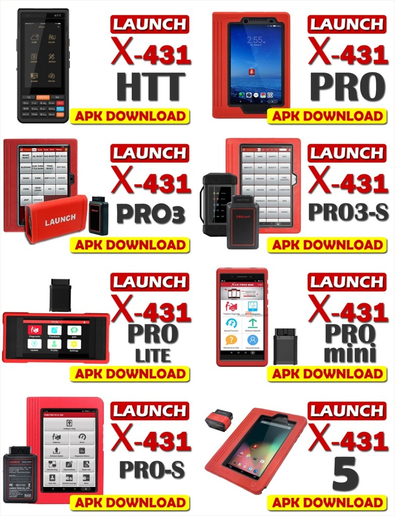 Download Launch X431 Apk Software for Android