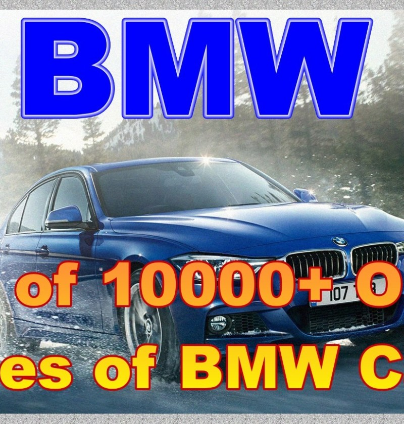 List of 10000+ OBD 2 Codes of BMW Cars - Erwin Salarda