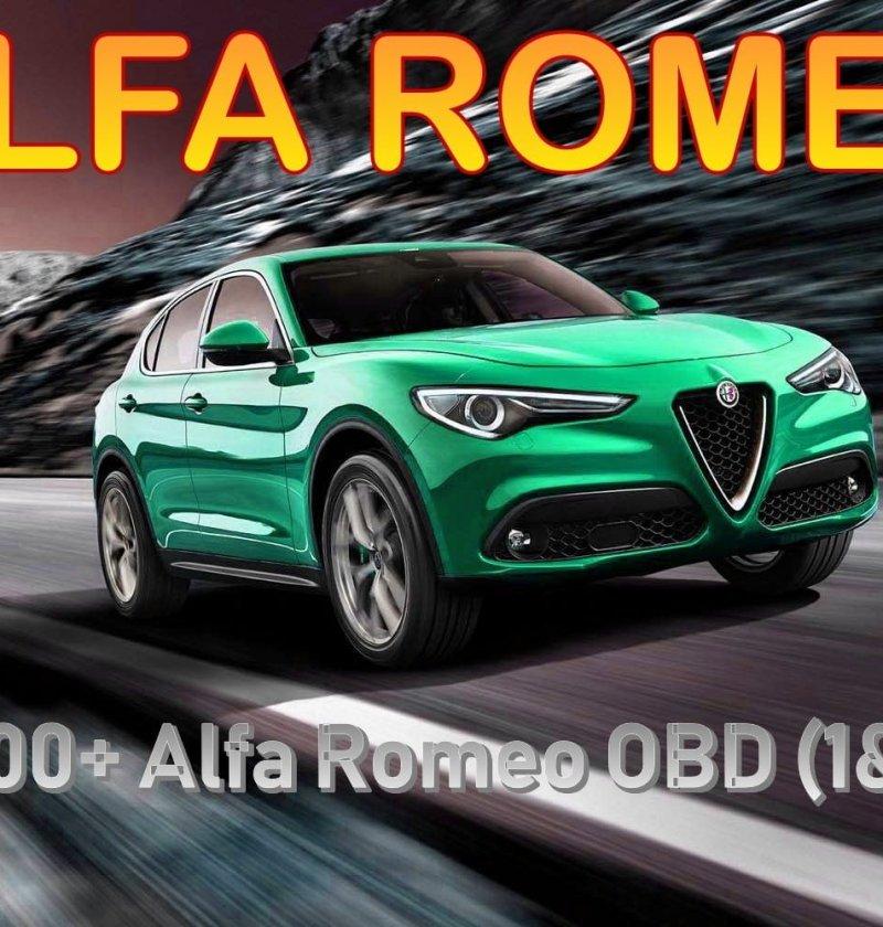 List of 8000+ Alfa Romeo OBD (1& 2) Codes - Erwin Salarda