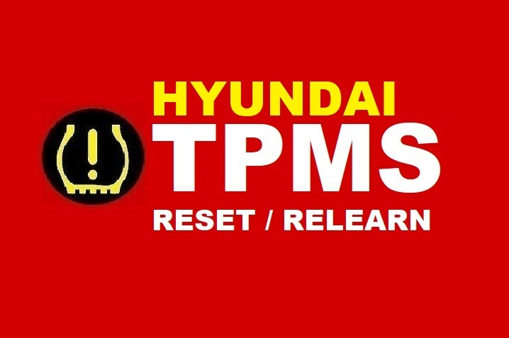 Hyundai How To Reset Tpms Tire Pressure Monitoring System