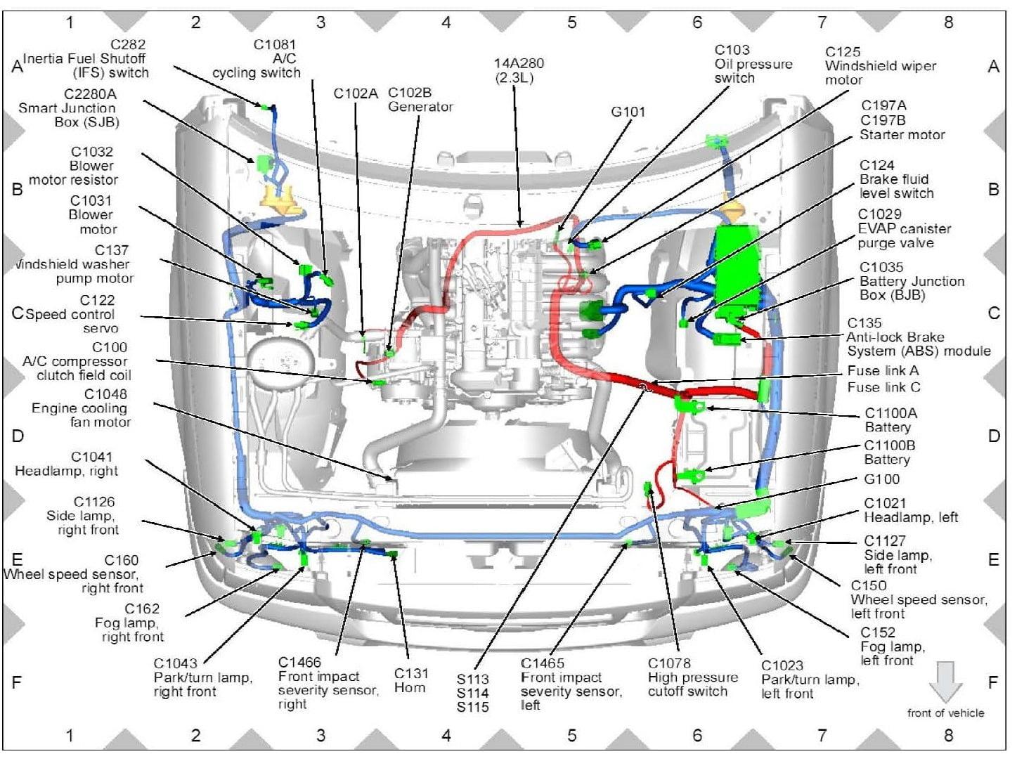 Fuel Pump for 2000 FORD RANGER V6-4.0L | Ford Ranger V6 Engine Diagram |  | Hampton Roads Pediatric Dentistry
