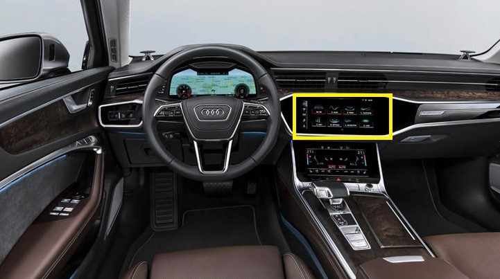 Audi A6 Quattro Multi Media Interface MMI
