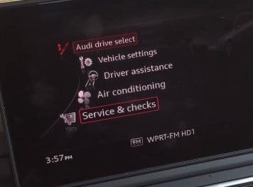 SELECT service check
