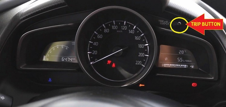 Mazda 2 Selector Reset Button