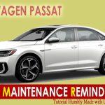 How To Reset Volkswagen Passat Service Maintenance Light