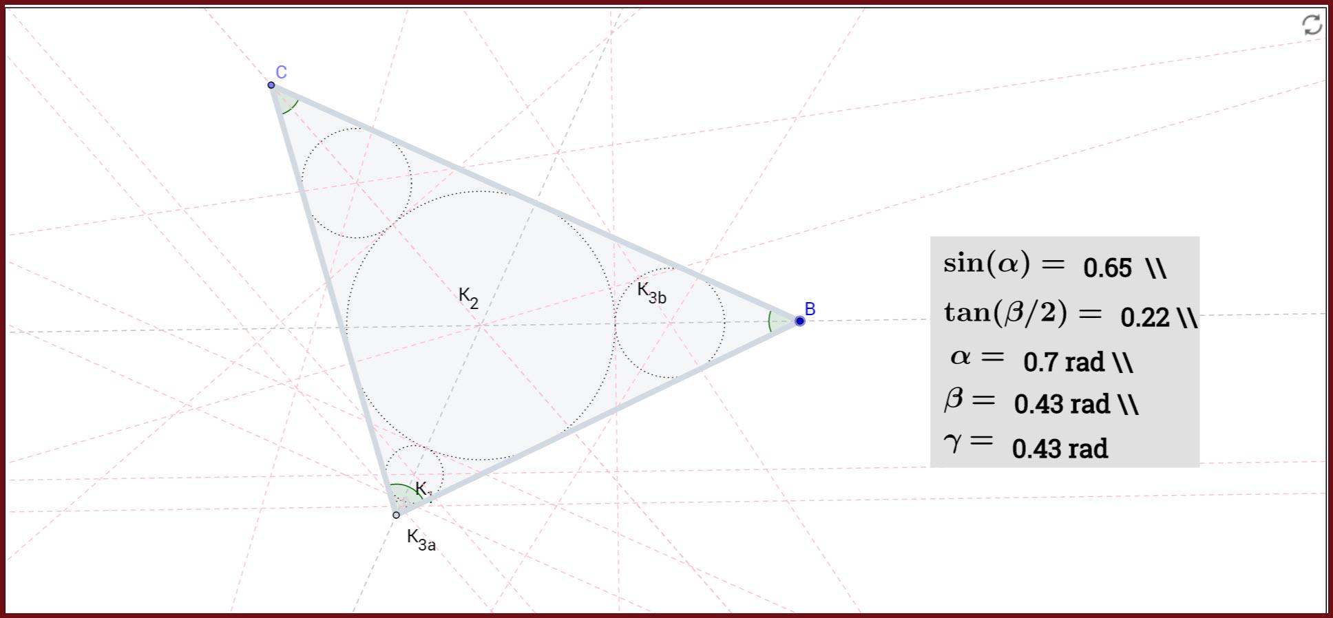 Geogebra Malfatti S Problem