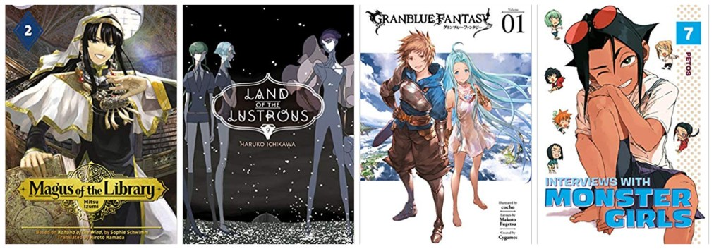 English Translated Manga: October 11, 2019 New Releases