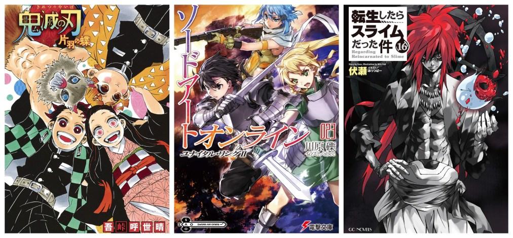 Oricon's Half-Year Light Novel Sales Ranking 2020