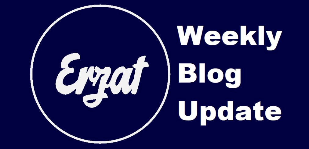 Weekly Blog Update, June 22 to June 28