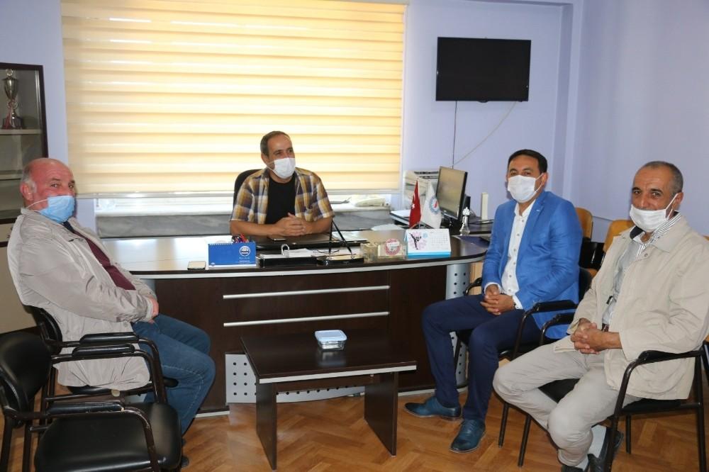 Mumcu'dan Amatör Spor Haftası ziyareti