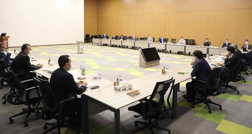 Erzincan'da yatırımcı kuruluşlar ile değerlendirme toplantısı gerçekleştirdi