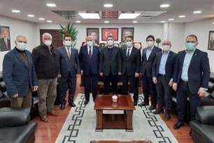 AK Parti'den esnaf ve STK ziyareti