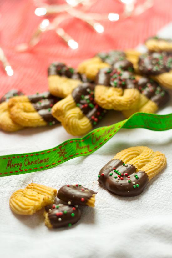 Recept mini spritzen voor kerst
