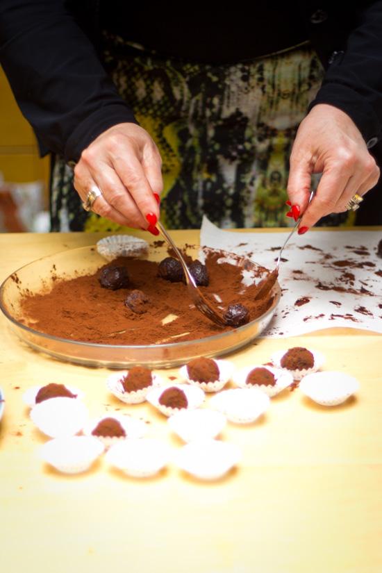Chocolade Amarula truffels recept