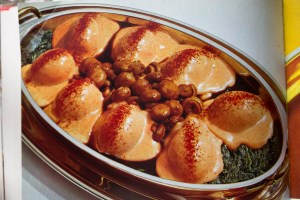 Retro spinazie champignons recept