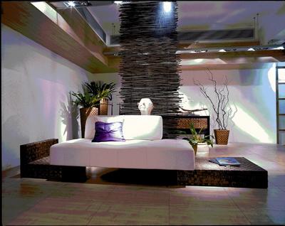 Bali Muebles De Estilo Modelo 4 3Sets 3D Model Download