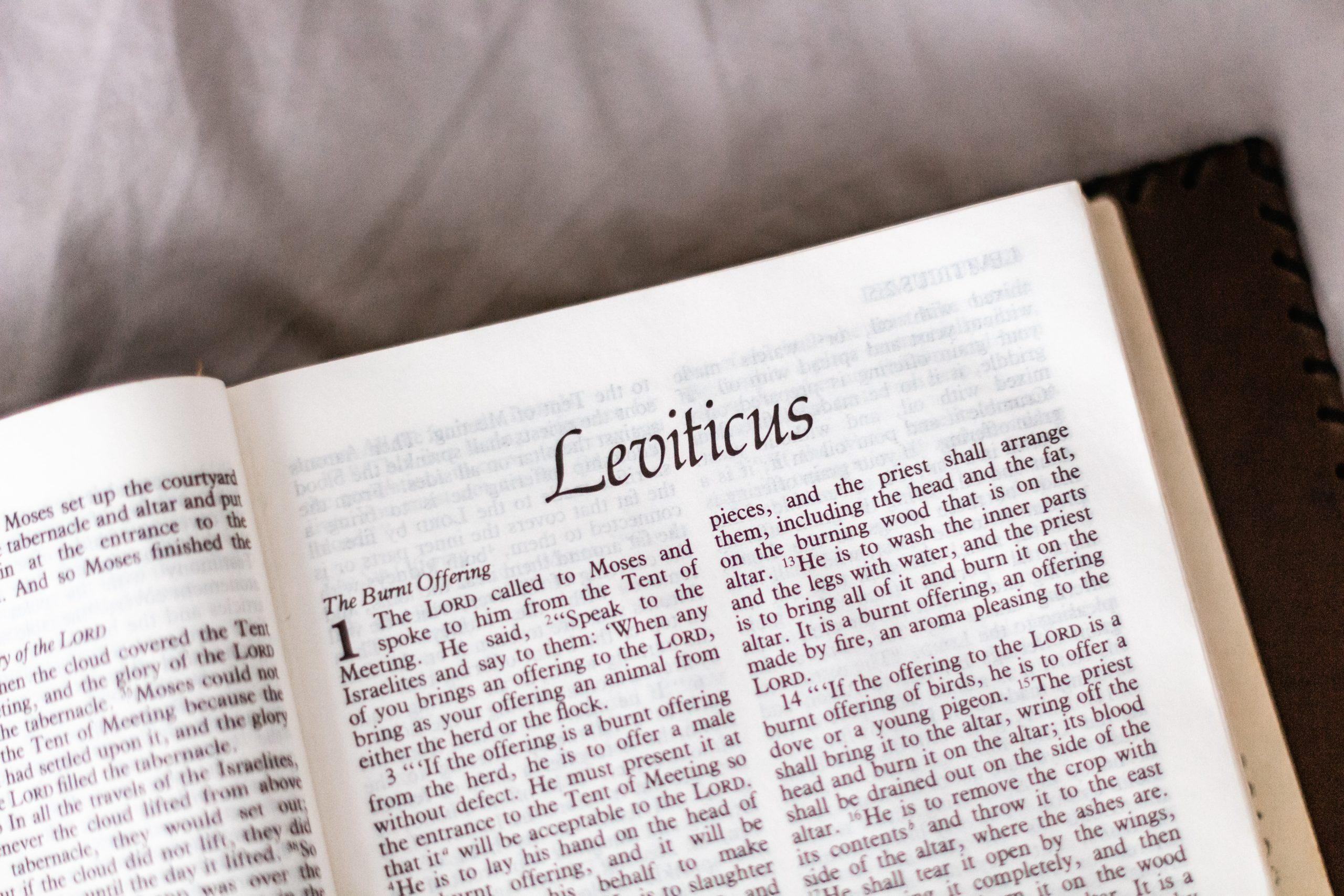 Cinco Razones Por Las Que Debes Predicar Levítico