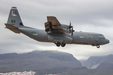 C-130J Super Hercules USAF